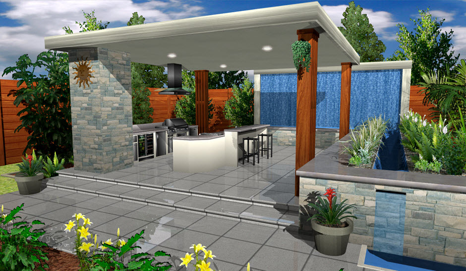 Architect 3d garden and exterior 2017 v19 plan design House designing software for pc