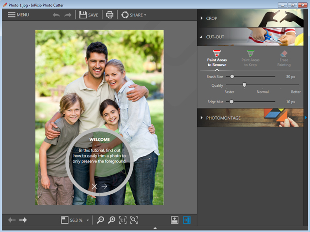 Easily remove unwanted elements from your photos!