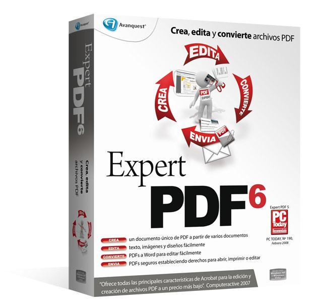 Expert PDF 6 es la herramienta de conversión más completa