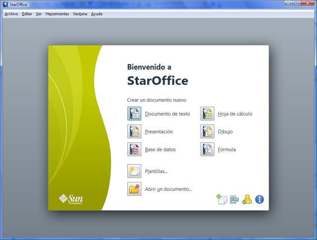 Sun StarOffice 9 para Mac, Windows y Linux - La alternativa ...