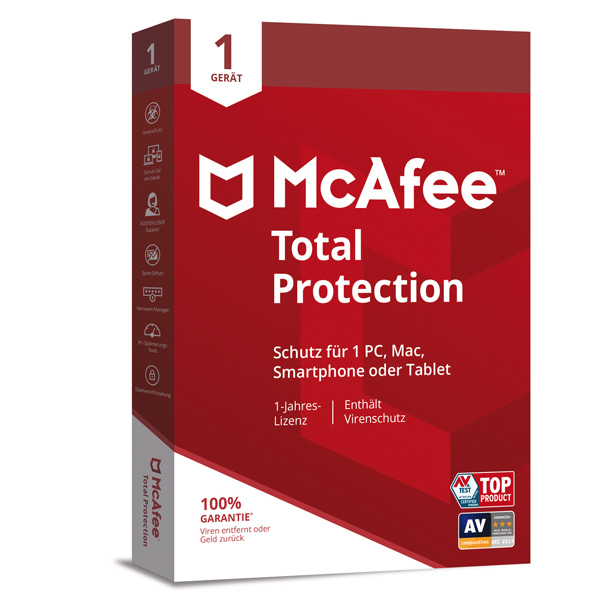 McAfee® Total Protection - 1 Jahr