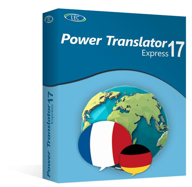 power translator 17 express deutsch franz sisch. Black Bedroom Furniture Sets. Home Design Ideas