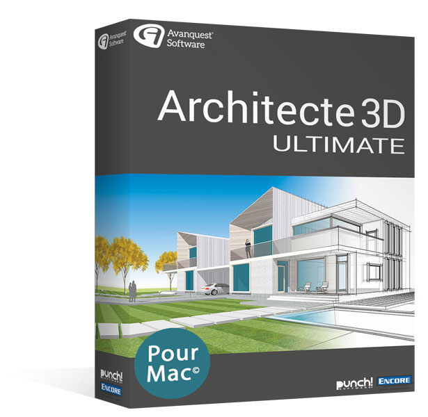 Architecte 3D Ultimate 20 - MAC