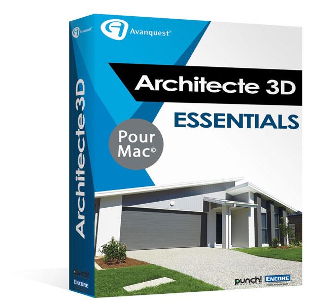 architecte 3d essentials 2017 concevez facilement la. Black Bedroom Furniture Sets. Home Design Ideas