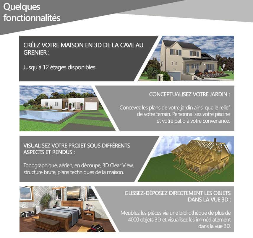 Architecte 3d platinium 2017 le logiciel ultime d 39 architecture 3d pour concevoir votre maison - Concevoir sa maison en 3d ...