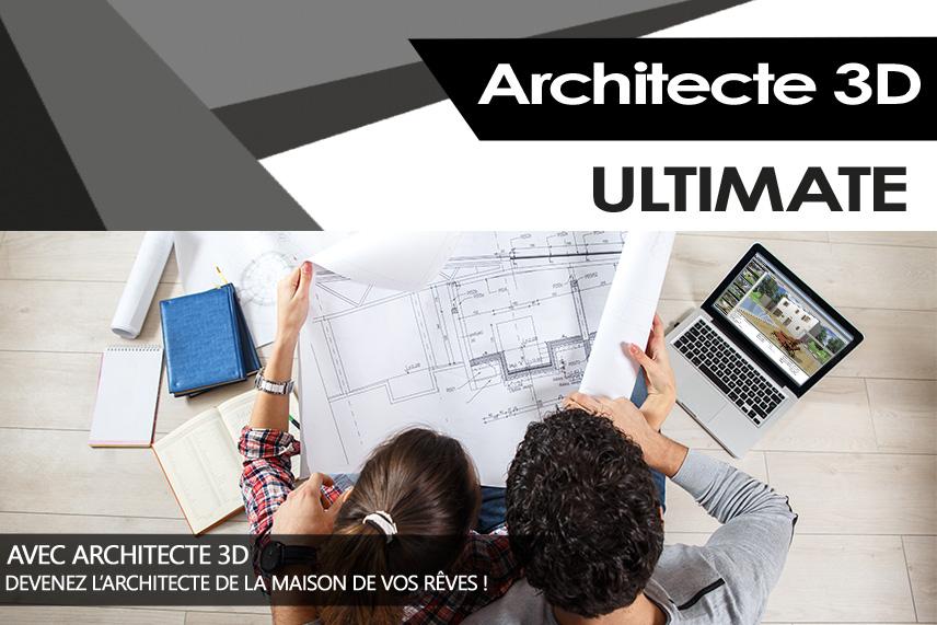 Architecte 3d ultimate 2017 le logiciel ultime d for Dessinez vos propres plans de maison gratuitement en ligne