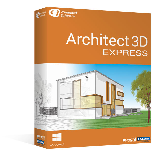 Architect 3D Express 20 - Design the home of your dreams in just a
