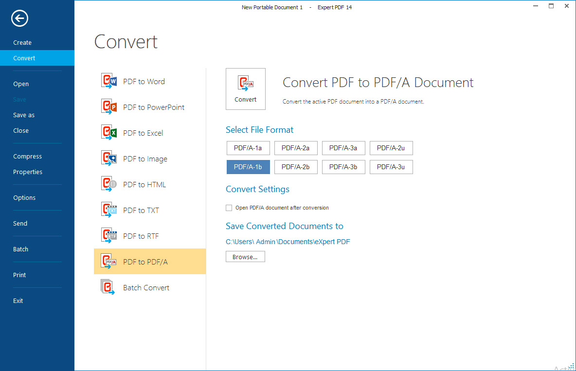 The professional tool to create, convert and edit your PDF Files