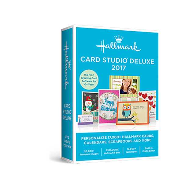 hallmark card studio deluxe the no 1 greeting card software