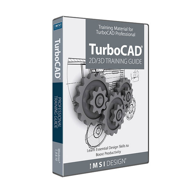 2D/3D Training Guides for TurboCAD 2020 Professional