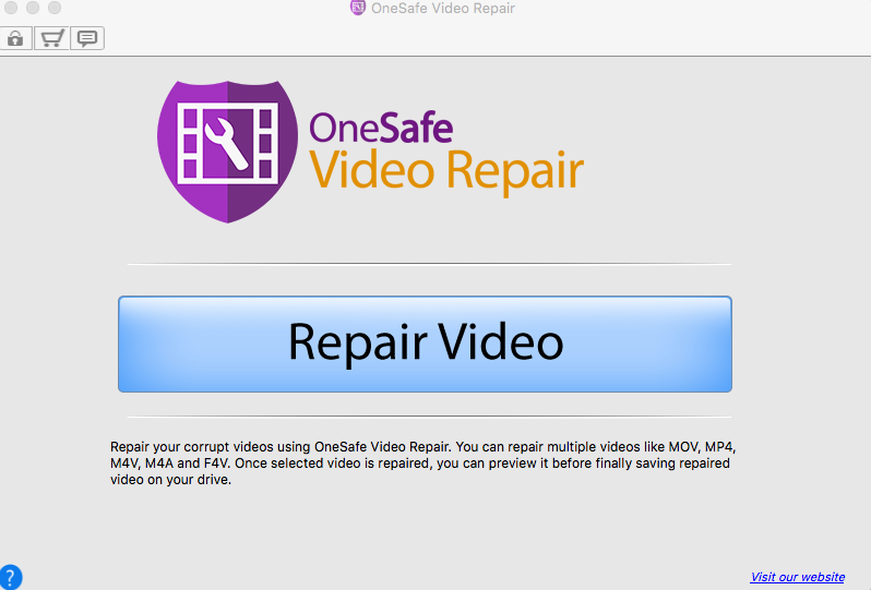 The most powerful tool to repair your corrupt video files