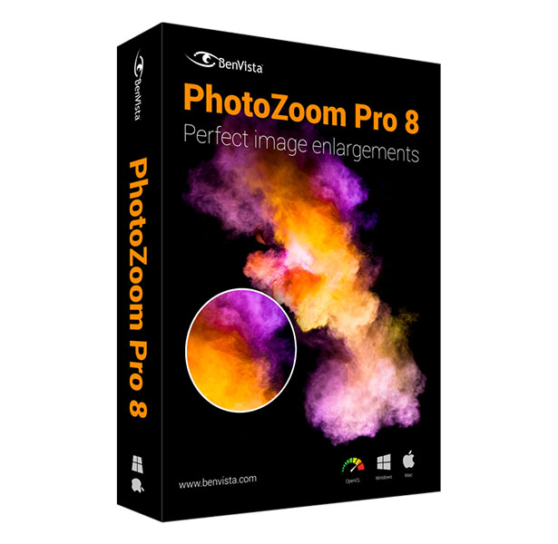 PhotoZoom Pro 8 Windows