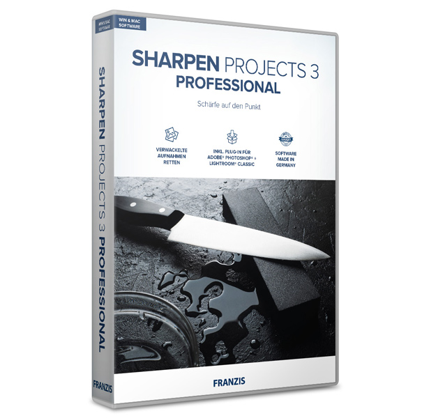 Sharpen projects Professional 3