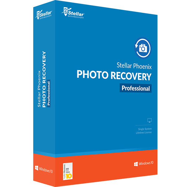 stellar phoenix photo recovery 8 professional for windows recovers