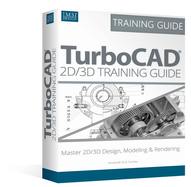 2D/3D Training Guide Bundle for TurboCAD