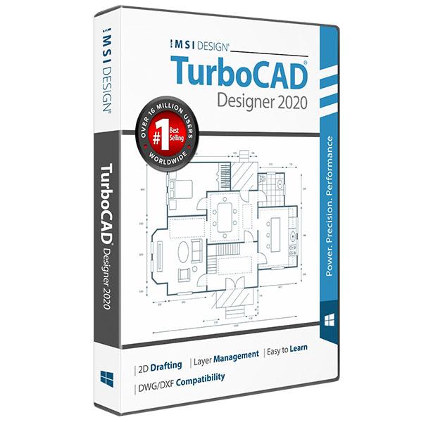 TurboCAD 2020 Designer -Easy 2D CAD Software