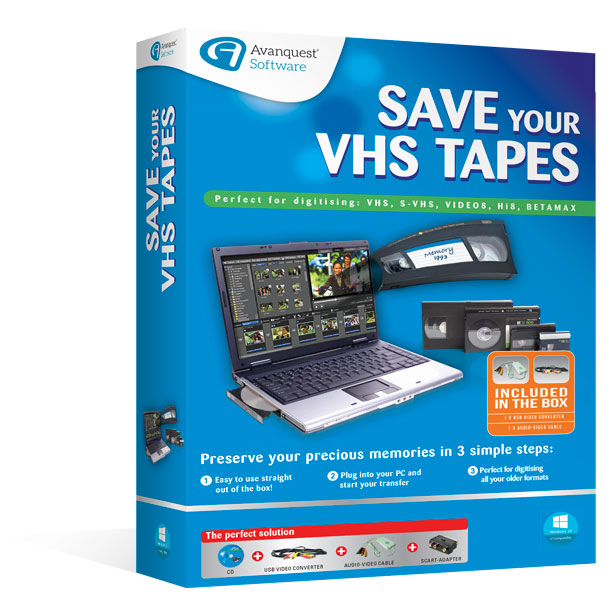Save your VHS Tapes
