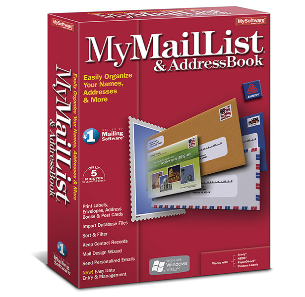 mymaillist addressbook 8 avanquest